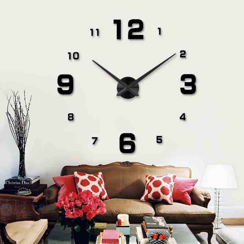 Hodiny DECOR 5 black